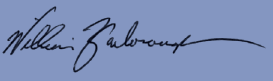 William Yarborough Signature